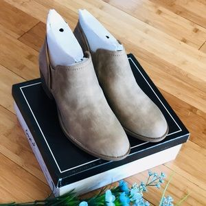 Stone Distressed Booties